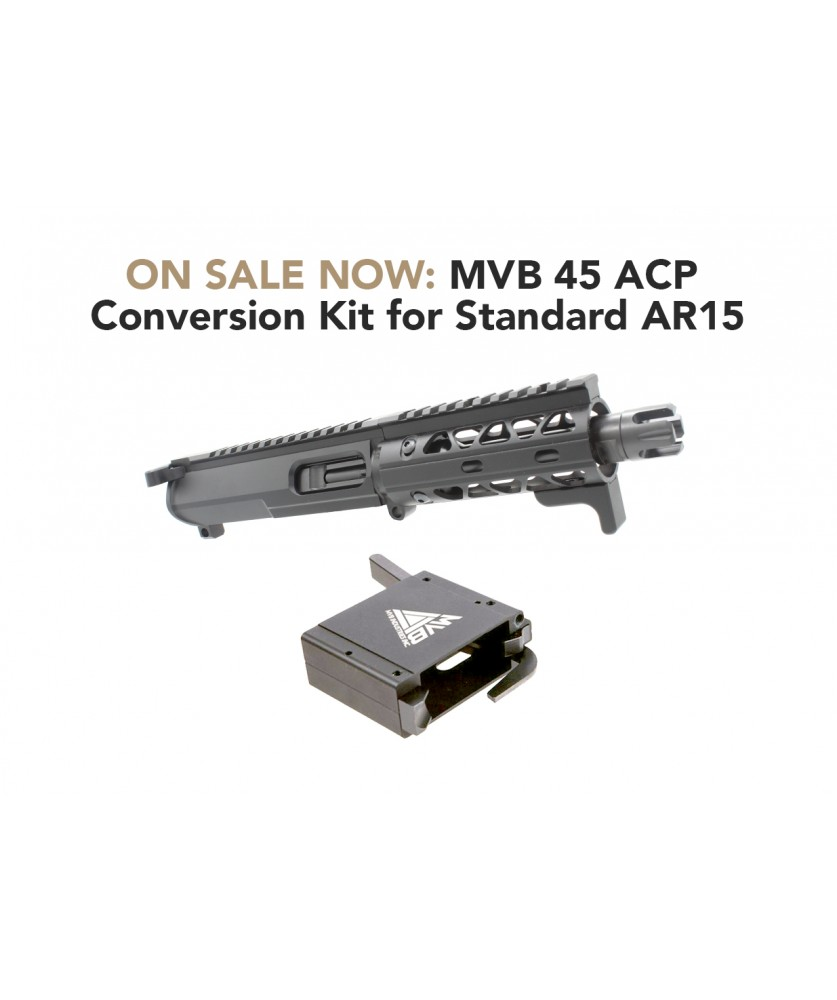 MVB 45 ACP Conversion Kit for standard AR15